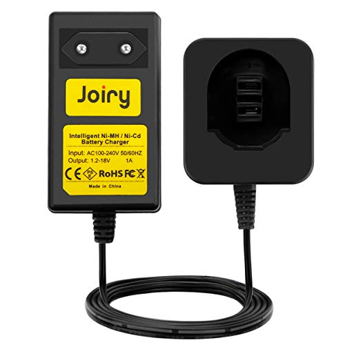 Joiry Multivolt Caricabatterie per Dewalt 7.2V 9.6V 12V 14.4V 18V Ni-MH/Ni-Cd Batteria (NON per Lithium Batteria)