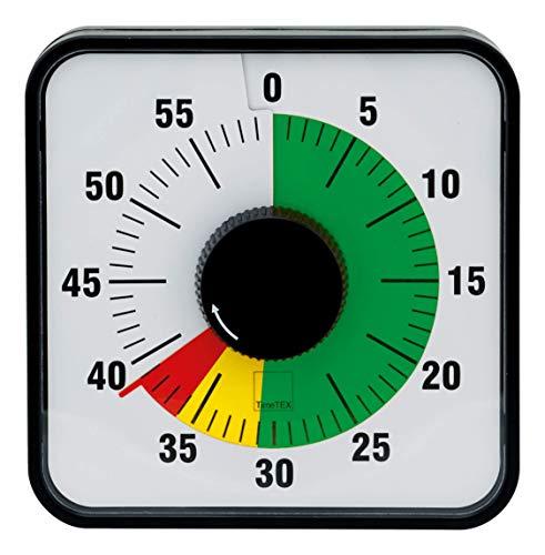 TimeTex Zeitdauer-Uhr, magnetisch, 19 cm x 19 cm, Ampelscheibe