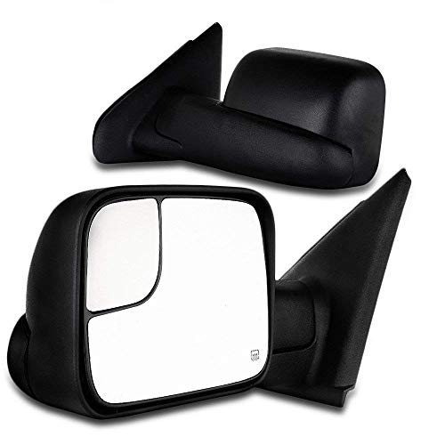 SCITOO Towing Mirrors, fit Dodge...