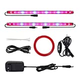 4 Pack LED Grow Light with Timer, LIGHTIMETUNNELGrow...