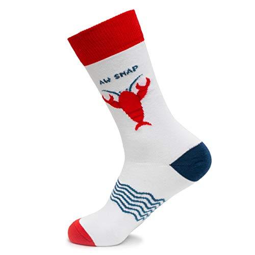 Lustige Socken aus Baumwolle, Unisex, Tiermuster, cooles Design, Geschenk, Aw Snap, Large