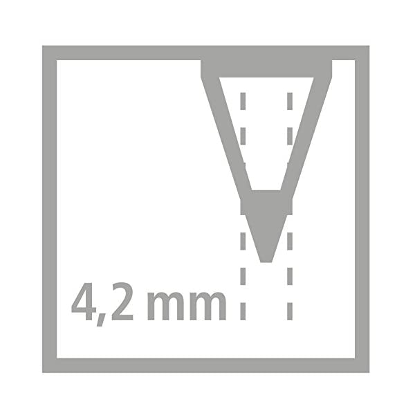 STABILO GREENtrio – Lápiz de color triangular grueso ecológico – Fabricado con madera certificada FSC – Estuche de 12 colores