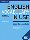 English Vocabulary in Use Upper-Intermediate Book with Answers: Vocabulary Reference and Practice - Michael McCarthy