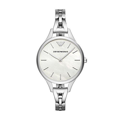 Emporio Armani Damen Quarz Uhr mit Edelstahl Armband AR11054