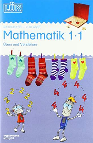 LÜK-Übungshefte: LÜK: 2. Klasse - Mathematik: Üben und verstehen 1·1