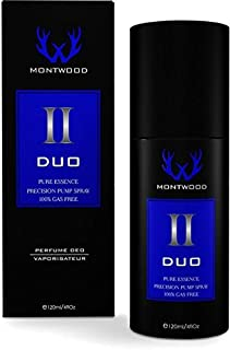 Duo Pure Essence Spray by Montwood - perfume for men, 120 ml
