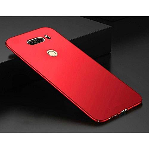 Luxury Hard Back Plastic Protection Matte Hard Slim Back Cover for LG G4 G3 G5 G6 Q6 K10 2017 Q8 V10 V20 V30 Phone Cases Coque Gold for LG V10,Red,for LGV30