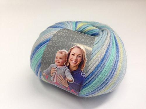 Lana Grossa LENA, Fb. 107, kuschelweiches Kinder- und Babygarn 50 % Polyamid, 50 % Microfaser Lauflänge: ca. 115 m / 50 g Nadelstärke: 4 - 4,5