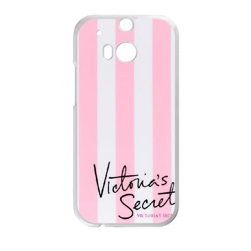 Victoria Secret Pink Brand Logo For HTC One M8 White Cell Phone Case Cover 14B1287661: Amazon.es: Electrónica