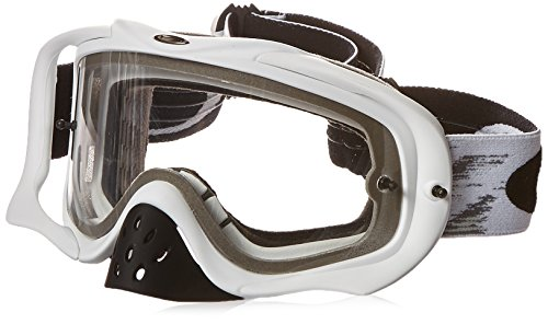 Oakley Crowbar MX Gafas, Claro, Einheitsgröße para Hombre