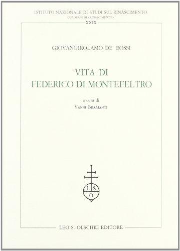 Vita di Federico da Montefeltro