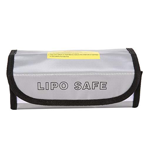 CENYAFAN Ignífugo Li-Po batería Li-Po Bolsa Protector seguro de carga caja saco del bolso bolsa a prueba de fuego a prueba de explosiones for el modelo de RC aviones no tripulados de coches Herramient