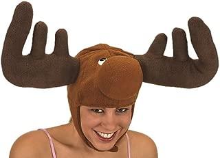 moose antler hat