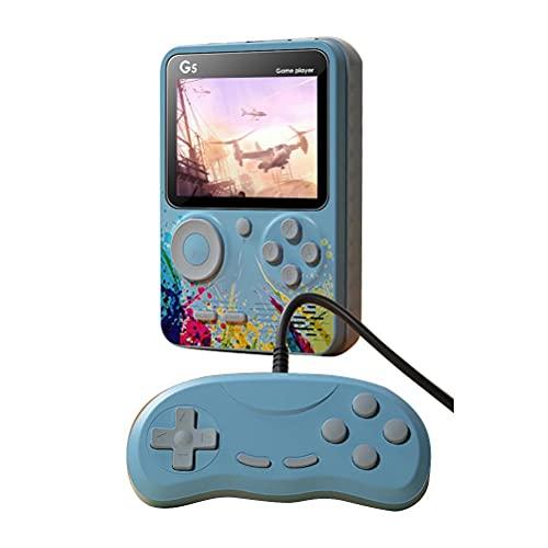 Consola de juegos portátil Hahepo integrada, 520 juegos, Mini Retro, con 2 mandos de juego, retro, 1020 mAh