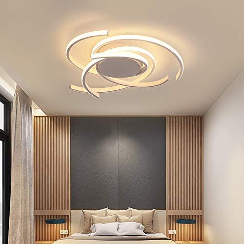 BINGFANG-W Llevada moderna de la lámpara por la sala de estar dormitorio aluminio blanco AC90-260V Sala Infantil de la lámpara Iluminación for el hogar accesorios ligeros Sputnik Moderno