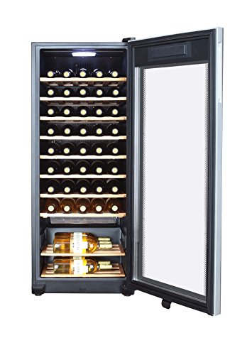 Haier WS50GA Weinkühlschrank/127 cm Höhe/LED Display zur Temperatureinstellung, Temperaturalarm
