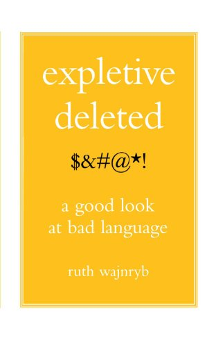 Expletive Deleted: PODA Good Look at Bad Language