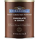 Ghirardelli Chocolate Sweet Ground Chocolate & Cocoa Beverage Mix, 48...