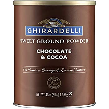 Ghirardelli Sweet Ground Chocolate and Cocoa | 3 lb | Baking & Desserts