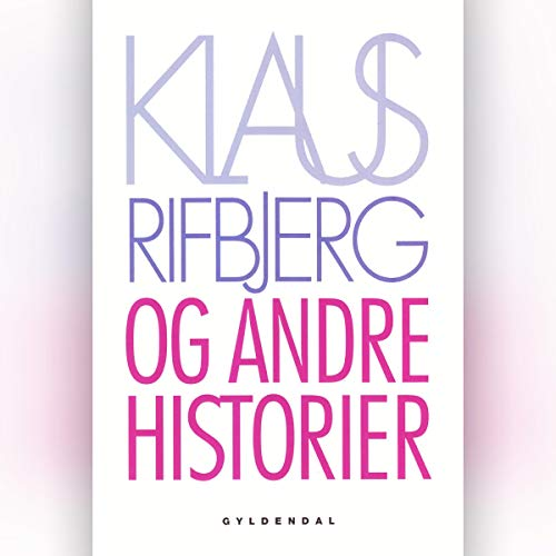 Og andre historier audiobook cover art