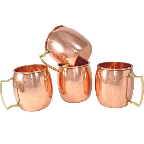 Stylla London Solide Mug pour Moscou Mules, Cuivre, 8.9 x 8.58 x 5.04 cm