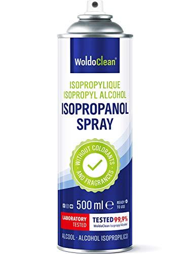 Isopropílico 99,9% Spray 500ml para limpieza - de componentes electrónicos