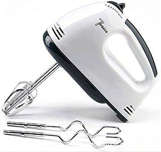 Batidora de mano eléctrica Escoba de mano ligera de 7 velocidades para hornear pasteles de cocina Mini batidora de crema d...