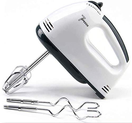 Batidora de mano eléctrica Escoba de mano ligera de 7 velocidades para hornear pasteles de cocina Mini batidora de crema de huevo
