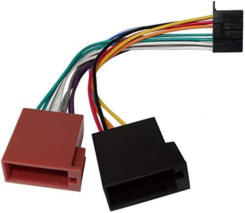 Aerzetix Z3 - Cavo Adattatore convertitore connettore ISO per autoradio Pioneer