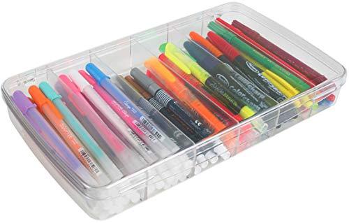 ArtBin Prism Aufbewahrungsbox mit 6 Fächern, klein, Kunststoff, transparent, 29,2 x 16,8 cm