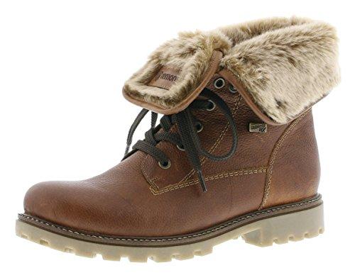 Remonte Damen D7474 Combat Boots, Braun (Muskat/Chestnut/steppe / 24), 39 EU