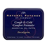 Natural Patches Of Vermont Eucalyptus Cough & Cold Comfort Essential Oil Body Patches, 10-Count Tins