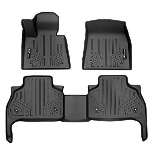 MAXLINER Custom Fit Floor Mats 2 Row Liner Set Black for 2019-2021 BMW X5