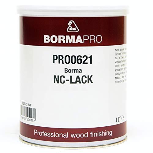 BORMA-PRO NC Transparent Lack 1 Liter 60 Seidenglanz
