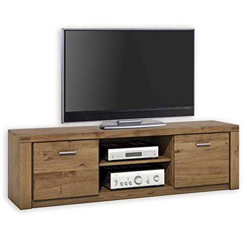 ROLLER TV-Lowboard - Wildeiche teilmassiv - 170 cm