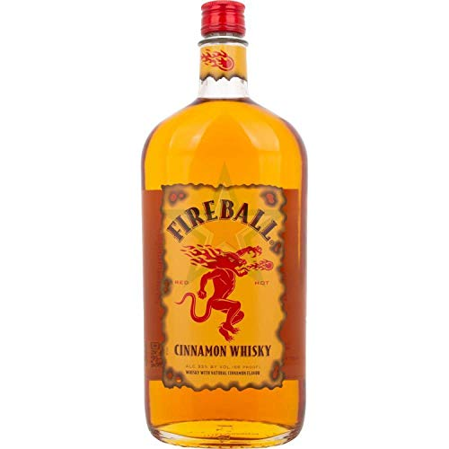 Fireball RED HOT Cinnamon Whisky 33,00% 1,00 Liter
