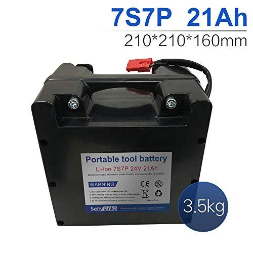 24V Li-ion batería dedicada a sillas de ruedas eléctricas Batería de plomo-ácido reemplazable 12Ah 15Ah 18Ah 24Ah 27Ah 30Ah 33Ah 36Ah 39Ah 42Ah 45Ah 48Ah 51Ah 54Ah 57Ah 60Ah (B-21Ah)