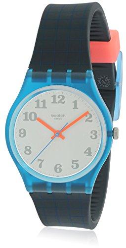 Swatch de vuelta a la escuela plata Dial Damas Reloj gs149