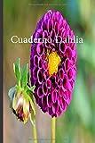 Cuaderno Dahlia: Lleve un registro de todas sus actividades con este cuaderno fácil de seguir.