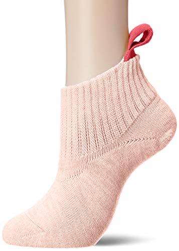 [ナイガイ] レディス・らくらく履きやすい履かせやすい・足底パイル・ループ付きショートソックス レディース 3022829 ピンク 日本 22~24cm (日本サイズM-L相当)