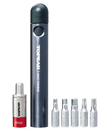 Topeak Nano Torbar Drehmomentschlüssel, Mehrfarbig (Mehrfarbig), 5 Nm