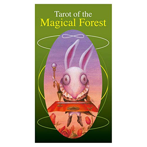 タロットカード 78枚 ライダー版 タロット占い 【タロット オブ マジカル フォレスト Tarot of the Magical Forest 】日本語解説書付き [正規品]