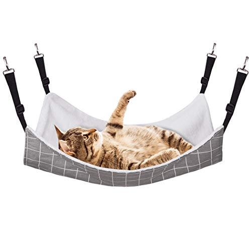 RayCC Ajustable Cat Hammock Cat Bed Sleeping Hammock Hanging Cage Chair Hammock