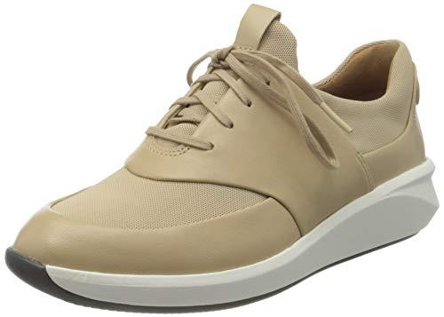 Clarks Un Rio Lace, Zapatillas Mujer, Color marrón Pardo, 36 EU
