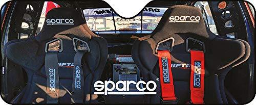 SPARCO SPC1717M Aluminium Sonnenschirm Design Seats Saugnäpfen 130 x 70 cm und Universal