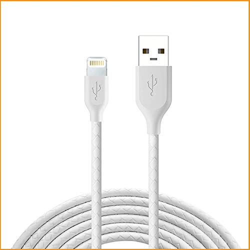 SofiTel Edition Textured Fast USB Data Sync & Charging Charger Cable for iPhone (5, 5s, SE, 6/6s, 6/6Plus, 7/7Plus, 8/8 Plus, X,Xs iPods,iPads USB Cable)(3.2 Feet, 1 Meter)