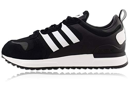 adidas ZX 700 HD, Zapatillas Hombre, Core Black FTWR White Core Black, 41 1/3 EU
