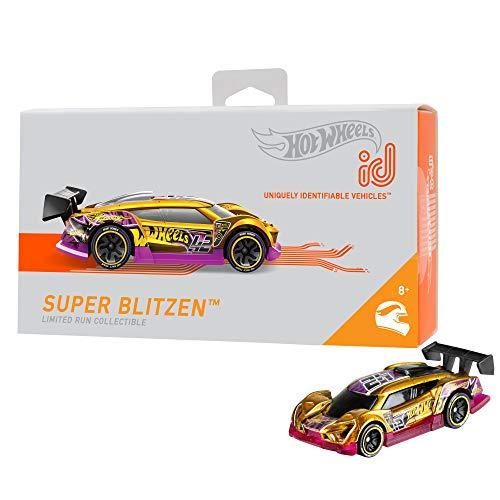 Mattel - Hot Wheels ID Vehículo de juguete, coche Blitzen, +8 años ( FXB20)
