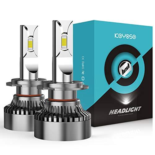 KOYOSO Ampoules H7 LED 20000LM 120W pour 12V Automobiles,...
