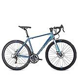Bicicletas De Carretera Adultos, 21 Velocidad 700C Ultraligero Aleación Aluminio Marco Los Hombres La Bici del Camino, Que Compite con Bicicleta Frenos Doble Disco, para Amantes Ciclismo